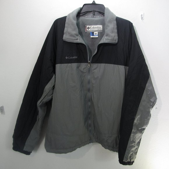 😀Men's Columbia Jacket Gray XXL Great jacket
